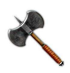 HeroQuest Short Double-Blade Axe