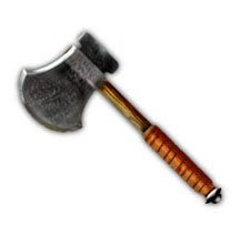HeroQuest Short Single-Blade Axe