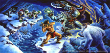 HeroQuest The Frozen Horror Cover Art
