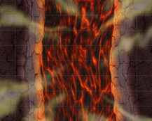HeroQuest Lava Chasm