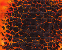 HeroQuest Hot Lava Floor