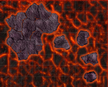 HeroQuest Isola di Lava