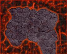 HeroQuest Lava Peninsula