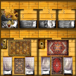 HeroQuest Guest Rooms