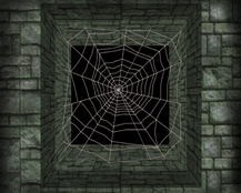HeroQuest Spiderweb Pit