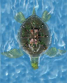 HeroQuest Sea Turtle