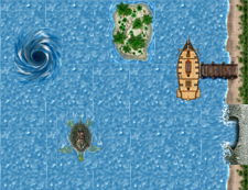 HeroQuest Ron Shirtz Sea Tiles
