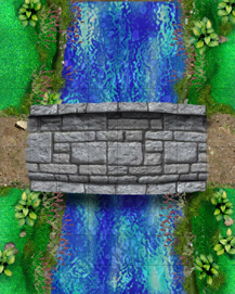 HeroQuest River Bridge