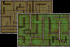 Deluxe Maze Deluxe Tiles
